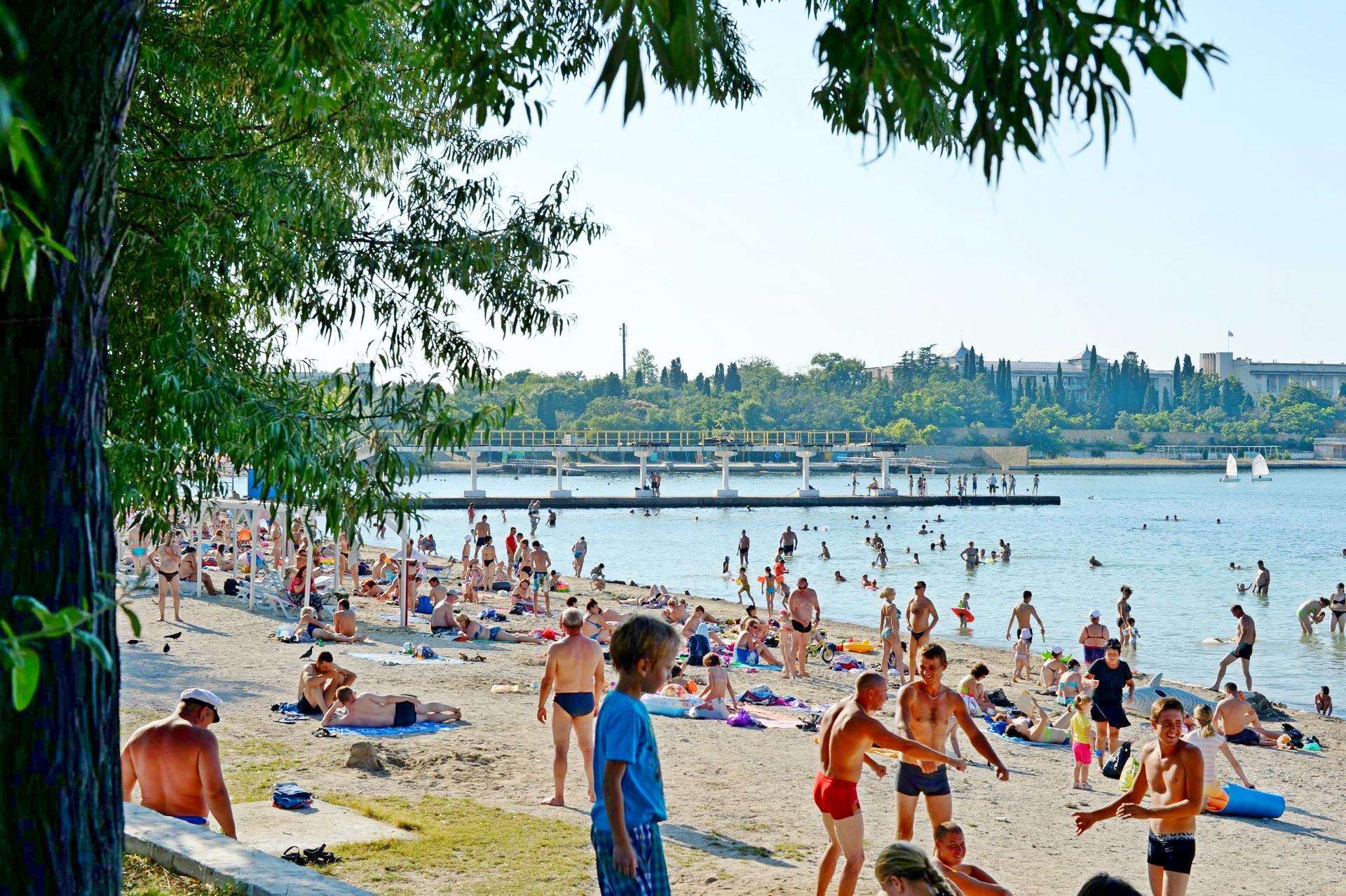 Севастополь пляж Омега